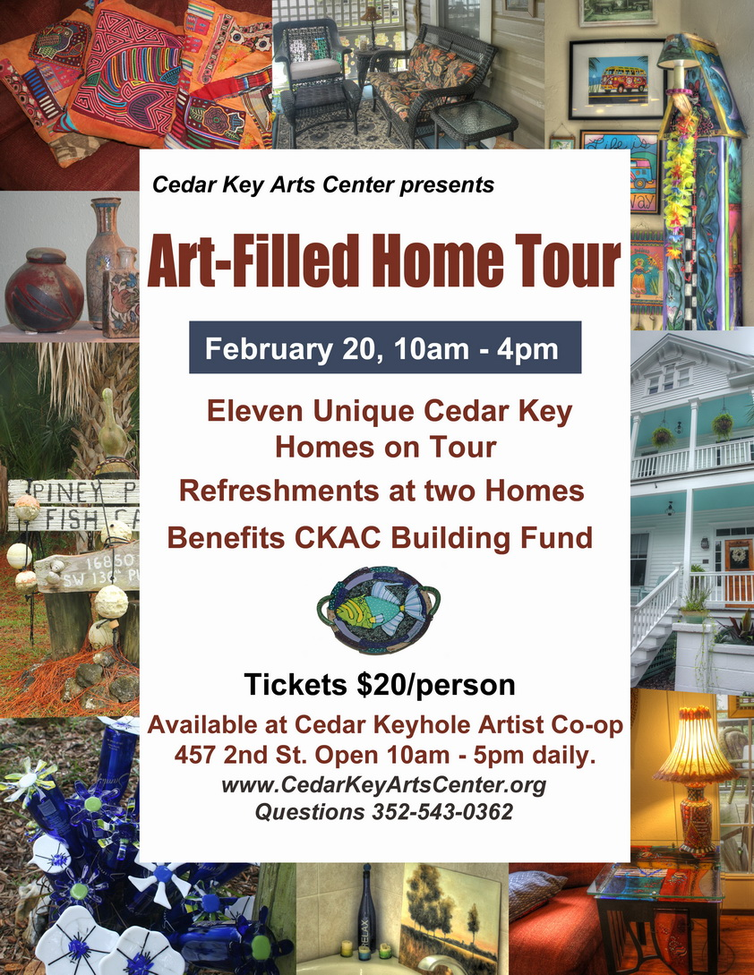 JAN 25 CKAC art filled home poster