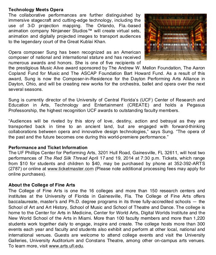 The Red Silk Thread Press Release 02