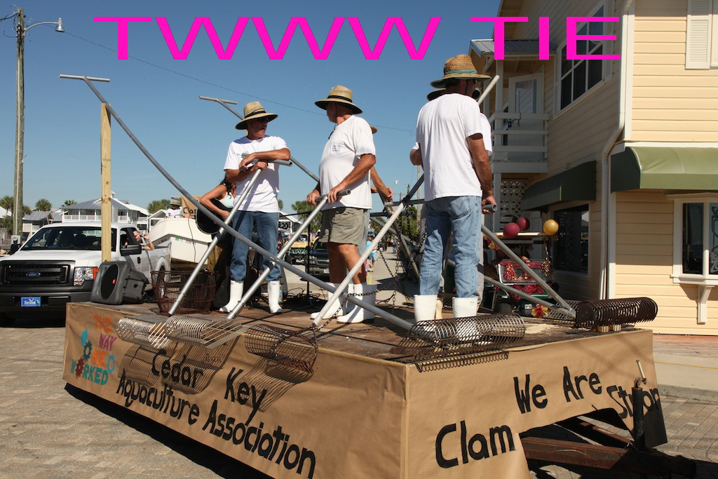 OCT 24 RORY The Way We Worked tie- The Cedar Key Aquaculture Assn. 3