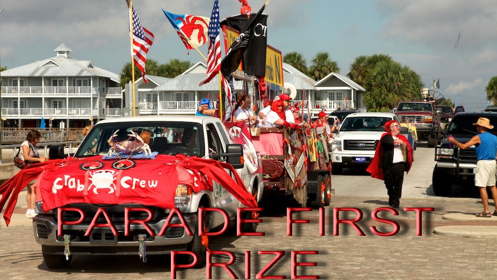 OCT 2 RORY Crab Crew 1st place parade tie 2013