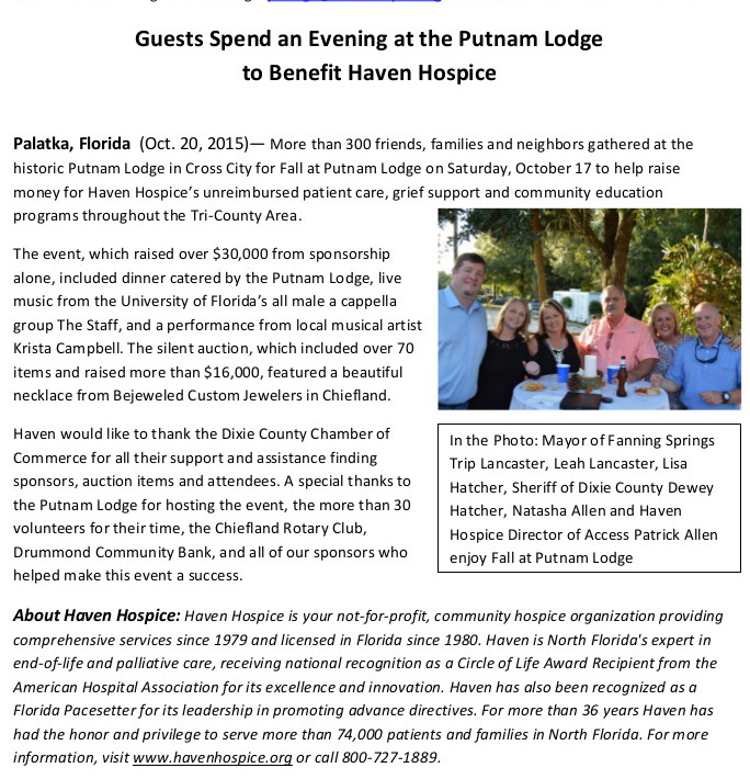 NOV 9 PostFallatPutnamLodge 1