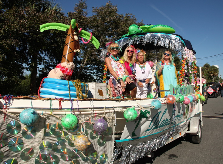 SEP 30 RORY 2014 parade 2nd place winner Island Arts Spiced Girls