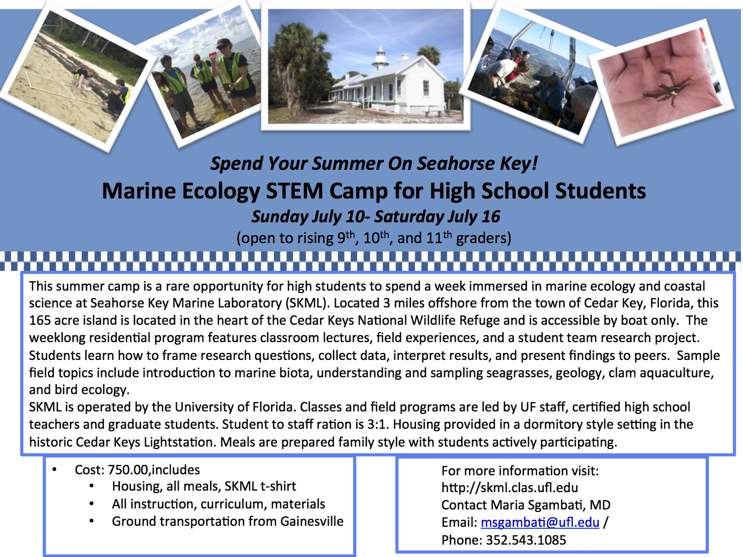 APR 27 Marine Ecology STEM camp 2016 JPG version