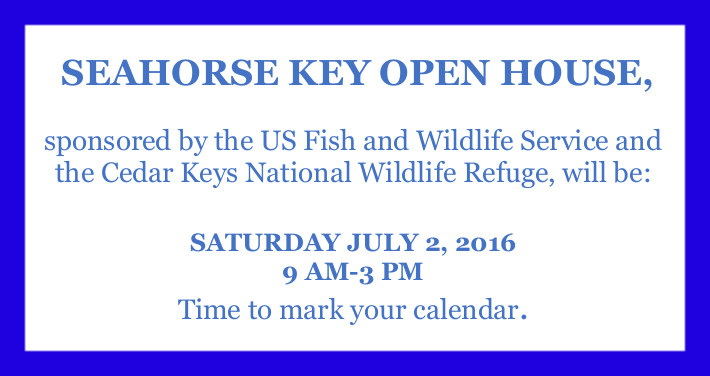MAY 9 SEAHORSE KEY OPEN HOUSE