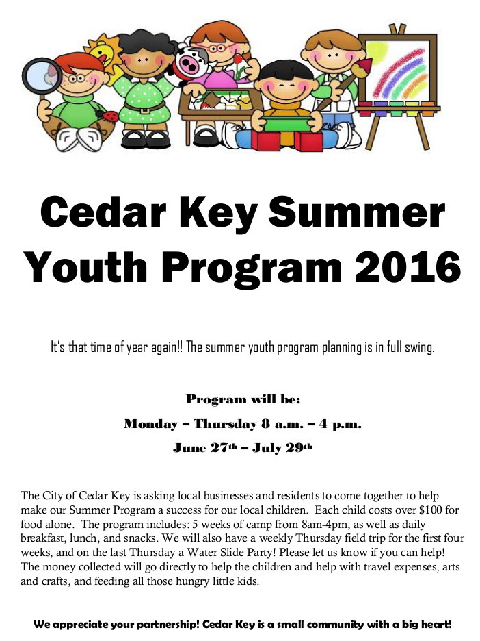 JUN 21 Summer Program Donation Flyer