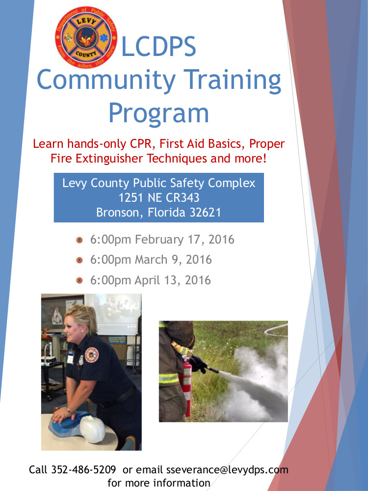 JAN 10 Community Training Flyer2 1