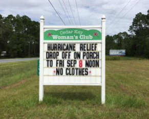 SEPT 19 PIC I CKWC and Hurricane Relief
