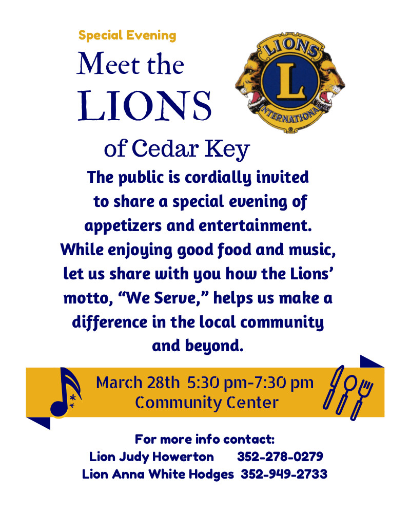 MAR 23 LIONS Meet the Lions Poster1